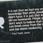 Paul Tudor Jones on Success