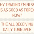 Why Trading Emini S&P Is As Good As Forex Now