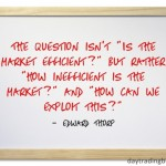 Edward Thorp on Market Efficiency