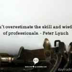 Peter Lynch on Professionals