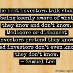 Samuel Lee on Awareness