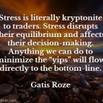 Gatis Roze on Stress