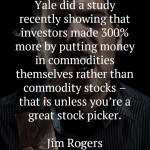 Jim Rogers on Commodities