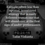 Tadas Viskanta on Strategy