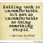 Warren Buffett on Cash