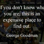 George Goodman on Stock Market