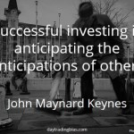 John Maynard Keynes on Anticipation