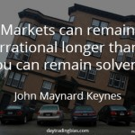 John Maynard Keynes on Irrational Markets