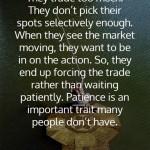 Tom Baldwin on Patience