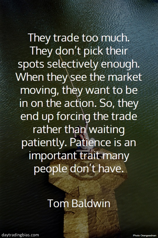Tom Baldwin on Patience
