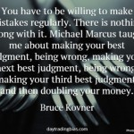 Bruce Kovner on Best Judgment