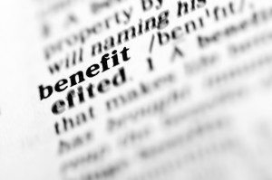 benefit (the dictionary project)
