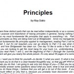 Principles by Ray Dalio