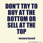 Bernard Baruch on Trading