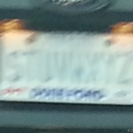 Interesting License Plates: Something Easy To Remember Eh