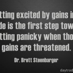 Brett Steenbarger on Excited