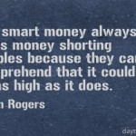 Jim Rogers on Bubbles