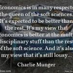 Charlie Munger on Economics