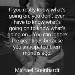 Michael Steinhardt on Headlines