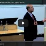 Andrew Lo: Adaptive Market Hypothesis