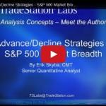 Erik Skyba: Advance/Decline Strategies – S&P500 Market Breadth