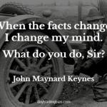 John Maynard Keynes on Facts