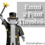 Emini S&P 2 Point Threshold