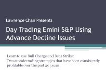 Day Trading Emini Using Advance Decline Issues